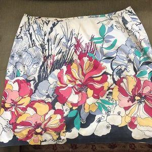 Ladies Colorful Skirt by Tahari  size 12 petite